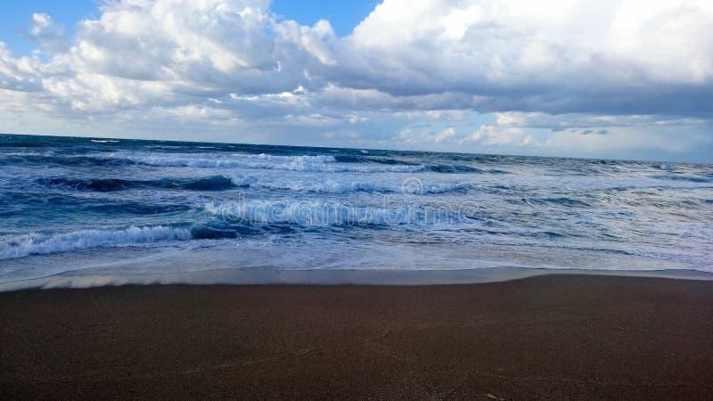 Ocean w Algieria sheraton obrazy royalty free