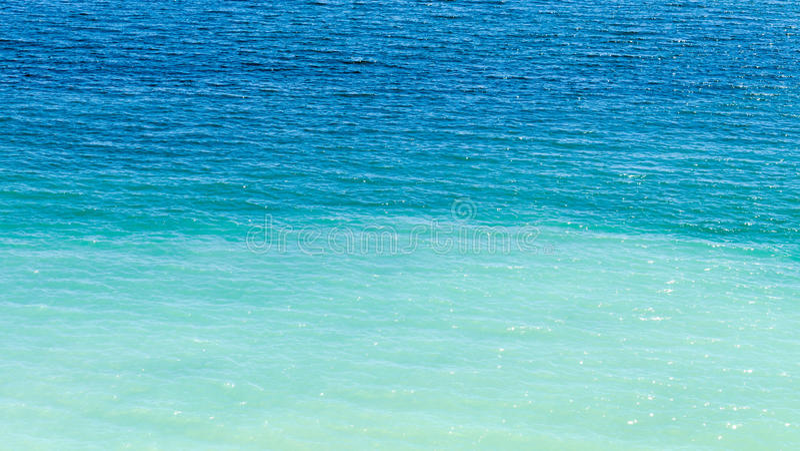 Ocean water background stock image