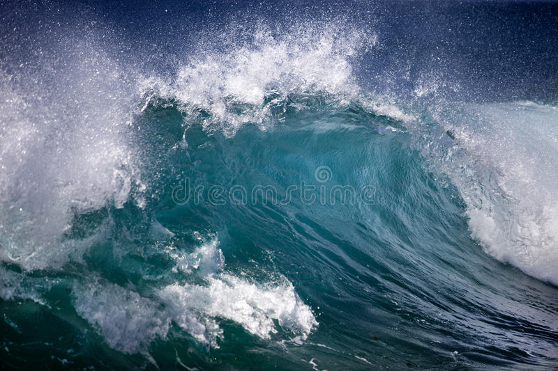 Ocean wave royalty free stock image