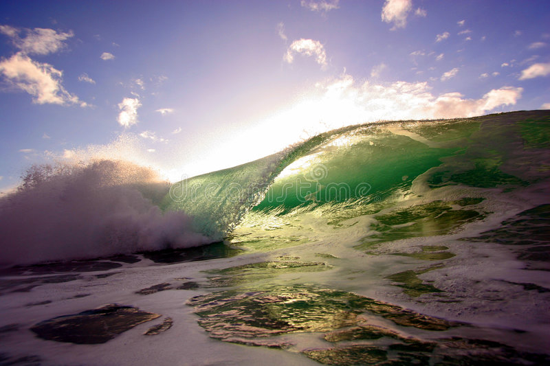 Download Ocean Wave 6 stock image. Image of pounding, hawaii, power - 4052059