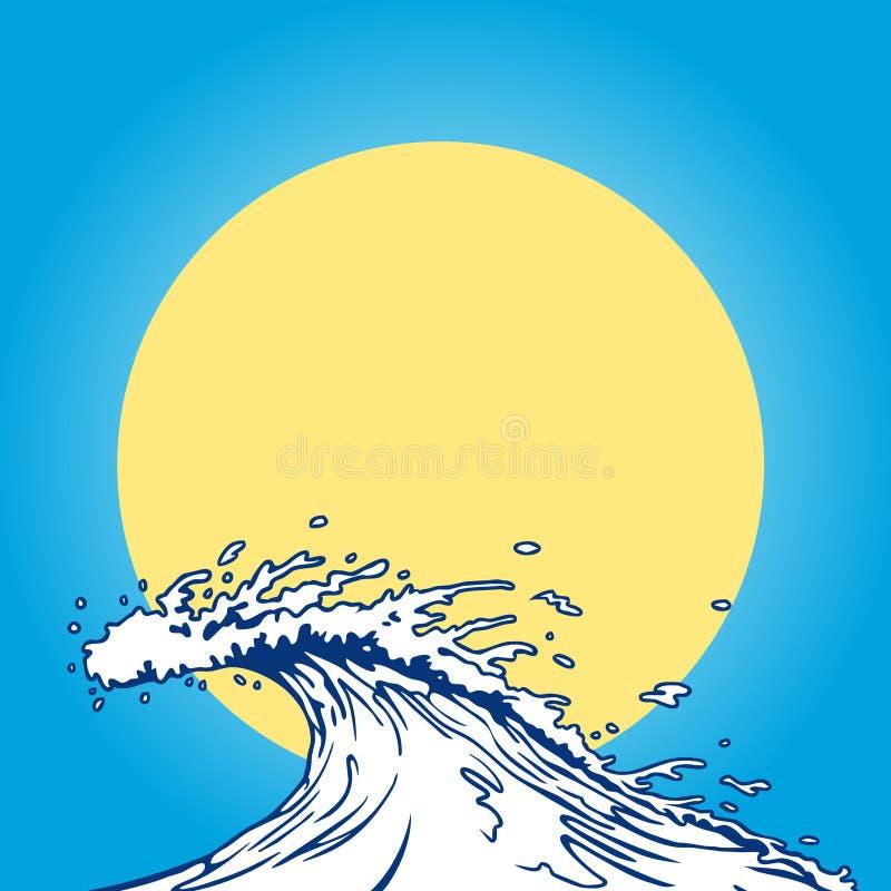 Download Ocean Wave Cartoon Clip Art Stock Vector - Illustration of ancient, ocean: 13938678