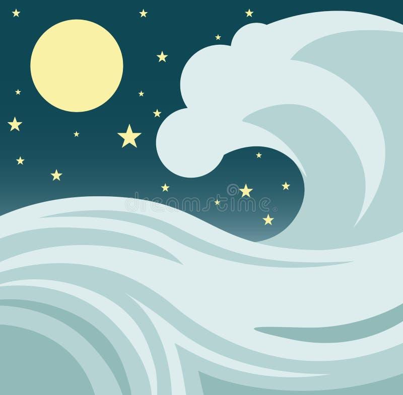 Download Ocean Wave stock vector. Image of force, beautiful, giant - 30362122