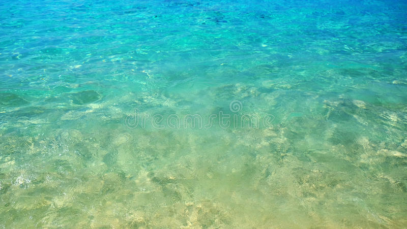 Ocean wave, Texture on water, aqua Background. royalty free stock photo