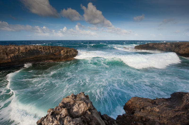 Download Ocean waves stock photo. Image of caribbean, storm, wave - 23731306