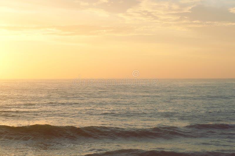 Ocean Waves At Sunset Free Public Domain Cc0 Image