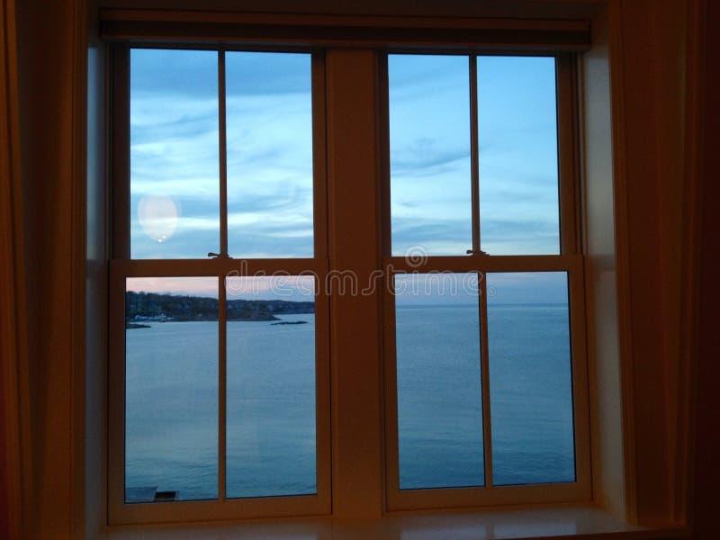 Ocean window stock photos