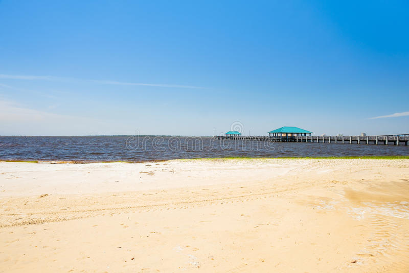 Ocean wiosen plaża obraz stock