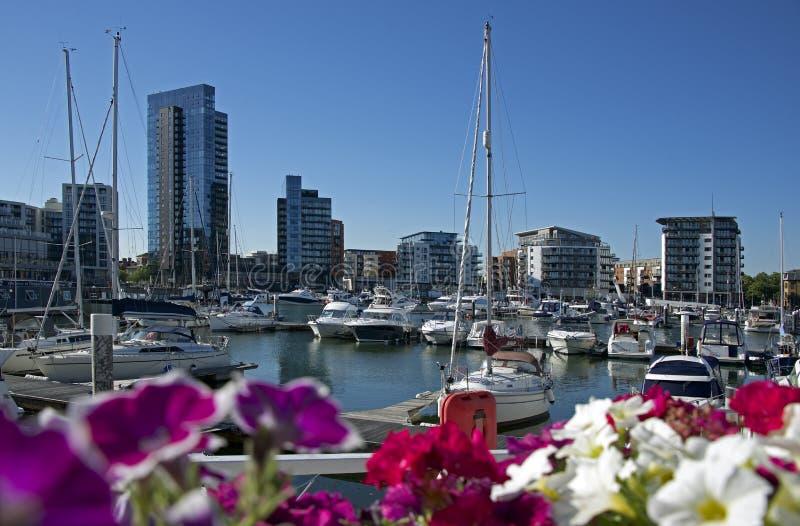 Ocean wioski Marina Southampton zdjęcie stock