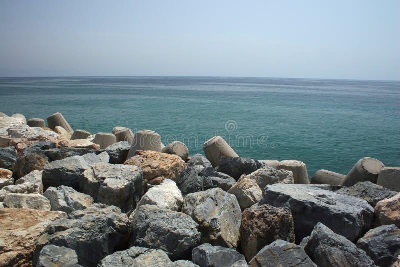 Oceanfront royalty-vrije stock foto