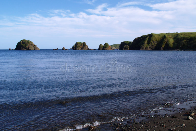 Download Oceanic landscape stock image. Image of kuril, beach, russia - 6934139