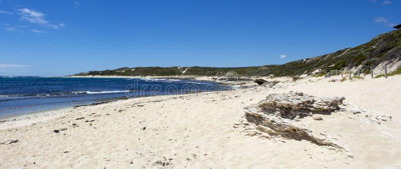 Oceano Índico em Margaret River Western Australia no início do verão foto de stock
