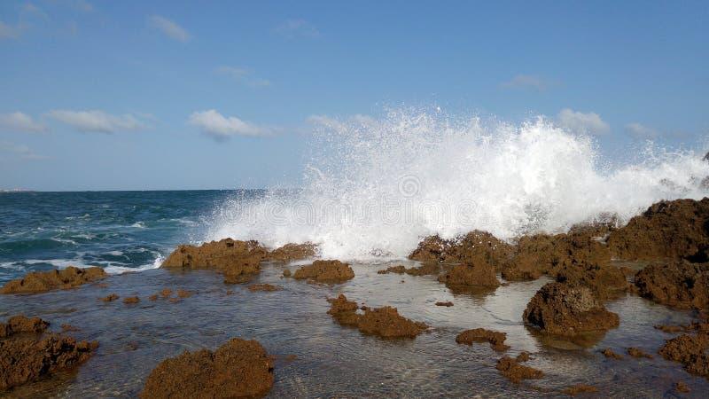 Oceano Índico Mogadishu imagem de stock
