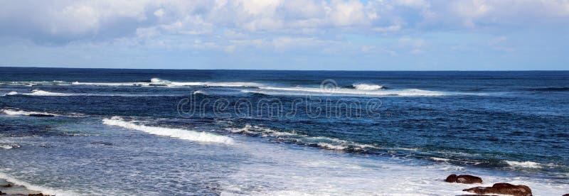 Oceano Índico no rio de Margaret imagem de stock