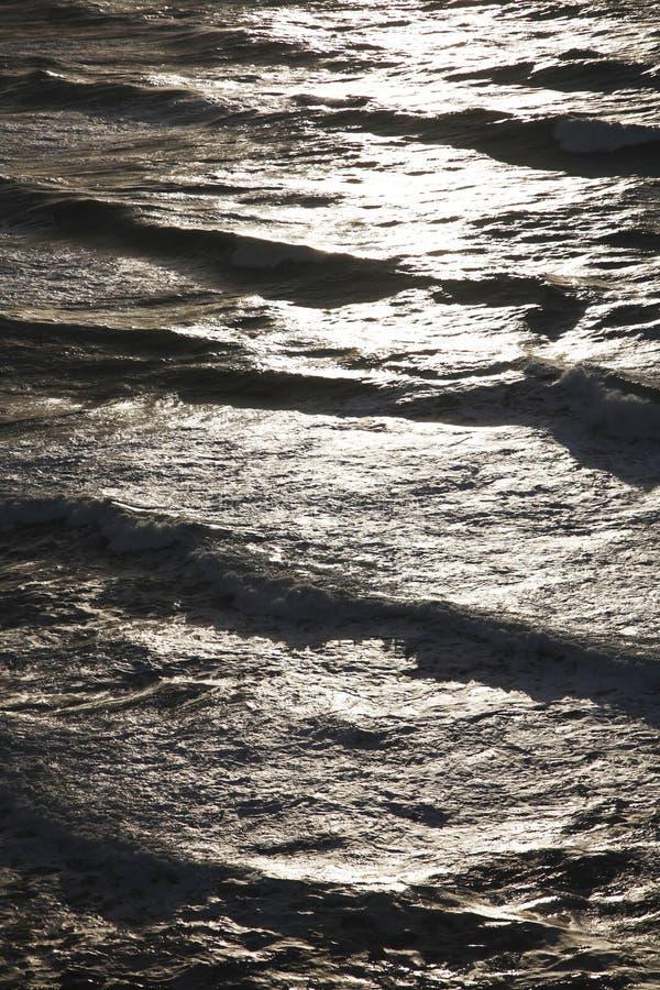 Oceano abstrato fotografia de stock