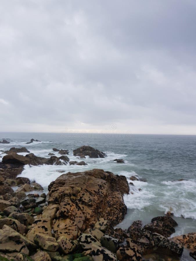 Oceano Atlântico foto de stock