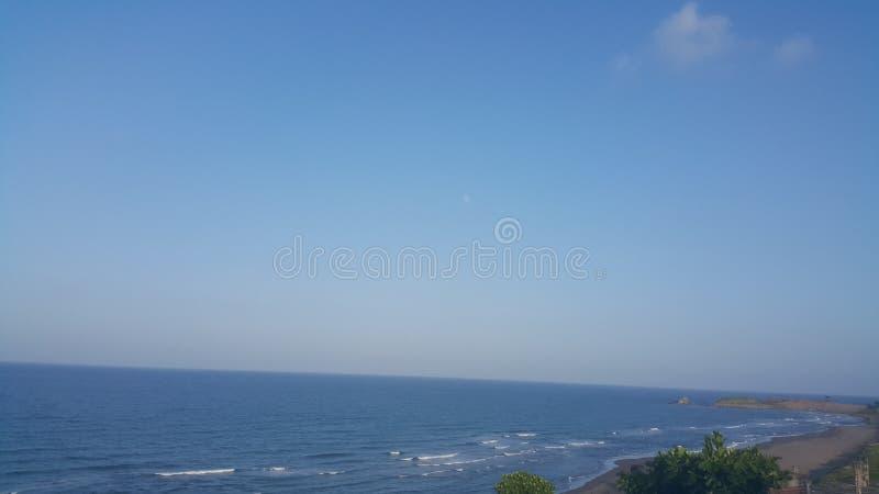 Oceano azul imagem de stock