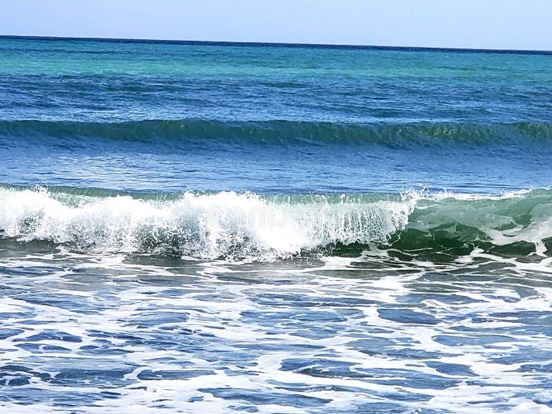 Oceano azul imagens de stock