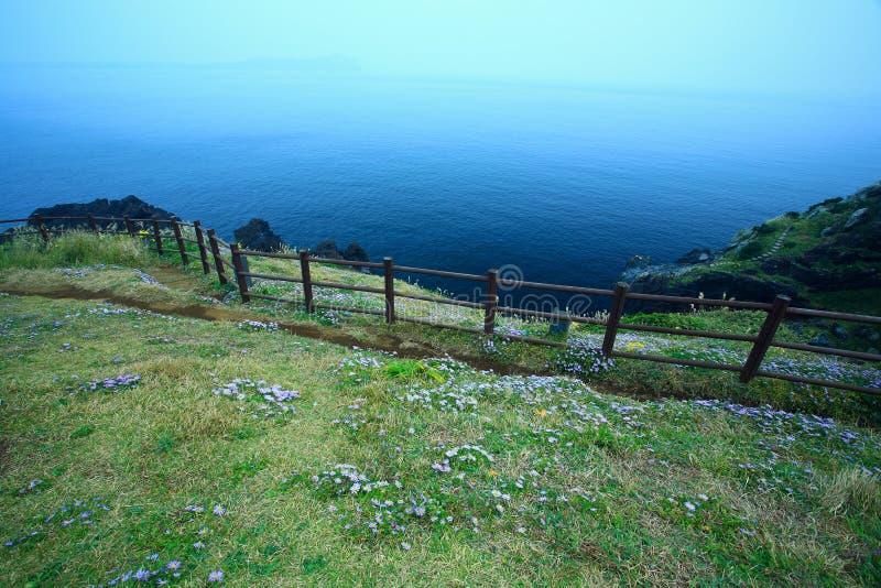 Oceano blu immagine stock