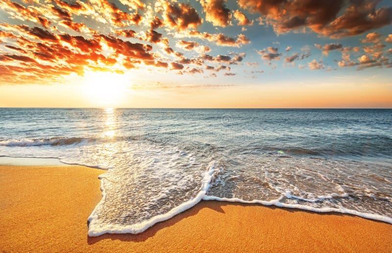 Oceano brillante fotografia stock libera da diritti