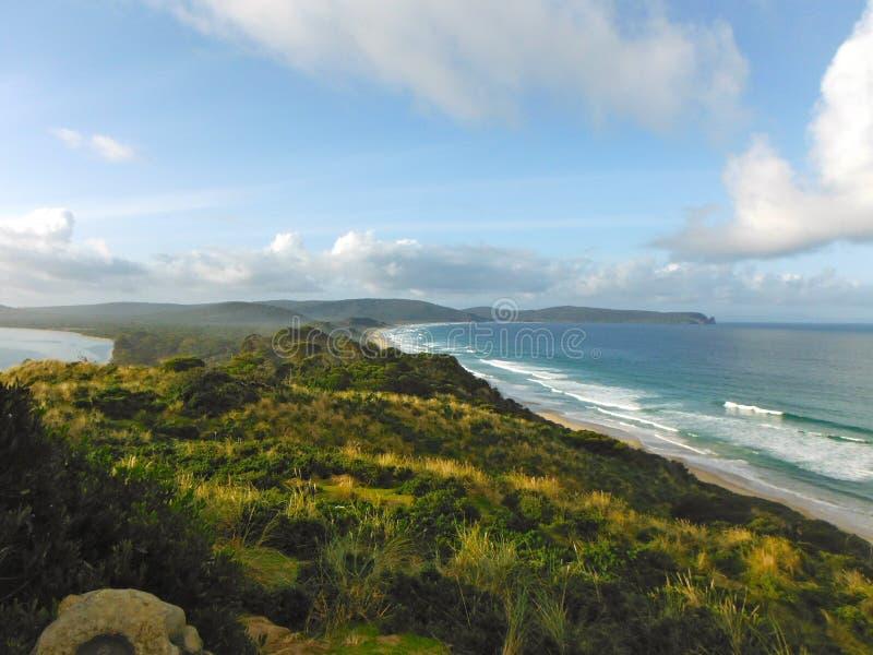Oceano costal da probabilidade da ilha de Tasmânia imagens de stock royalty free