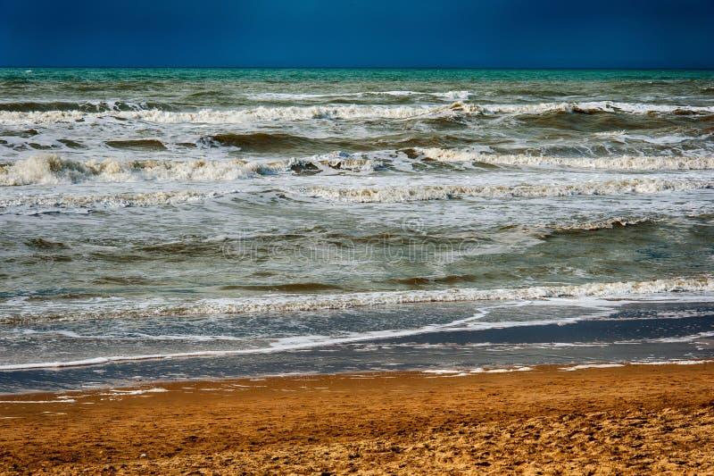 Oceano da praia da areia imagem de stock royalty free