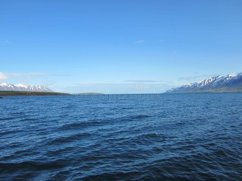 Oceano de Northicelandic imagem de stock