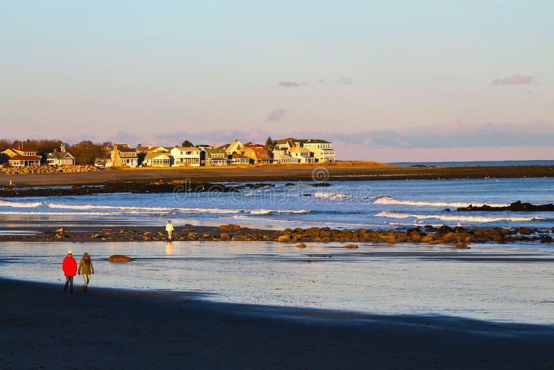Oceano de Nova Inglaterra fotografia de stock