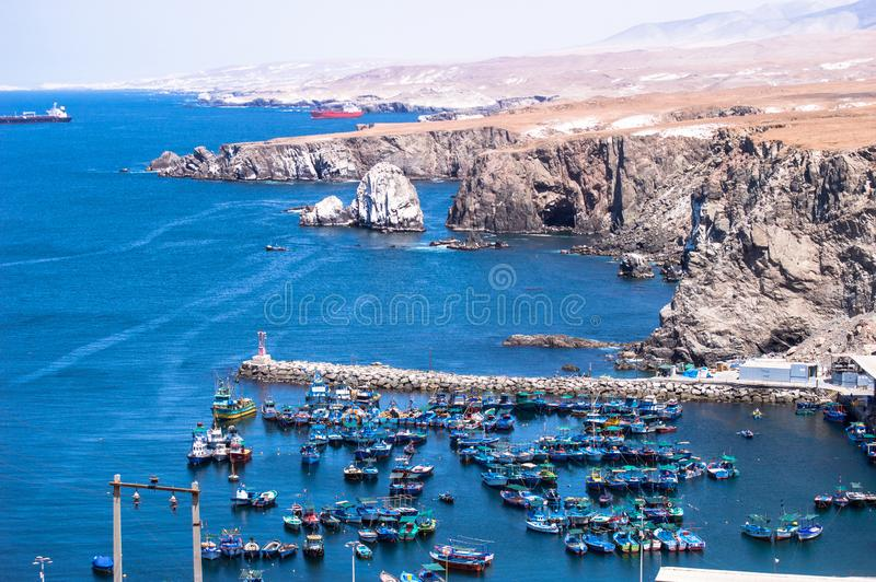 Oceano de Puerto de arequipa peru imagens de stock royalty free