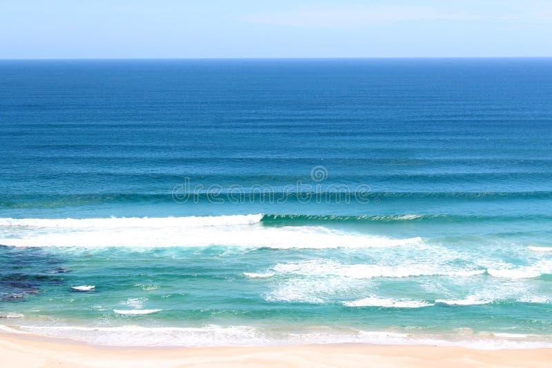 Oceano del sud esposto al vento Australia ad ovest immagini stock libere da diritti