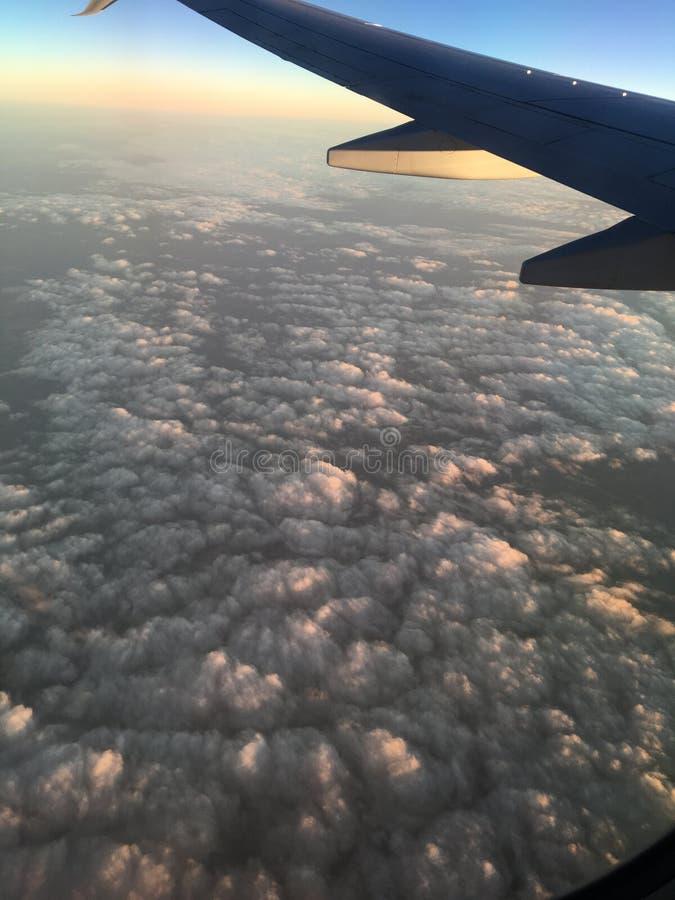 Oceano della nuvola fotografie stock libere da diritti