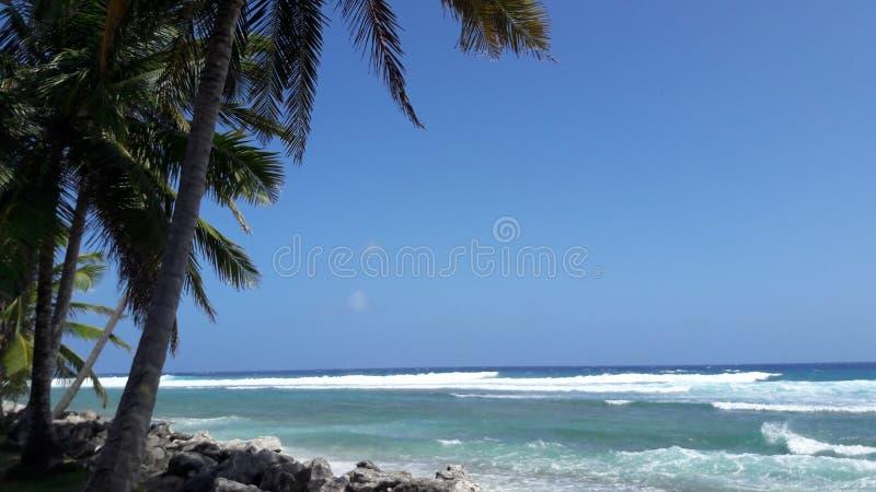 Oceano di pace fotografia stock