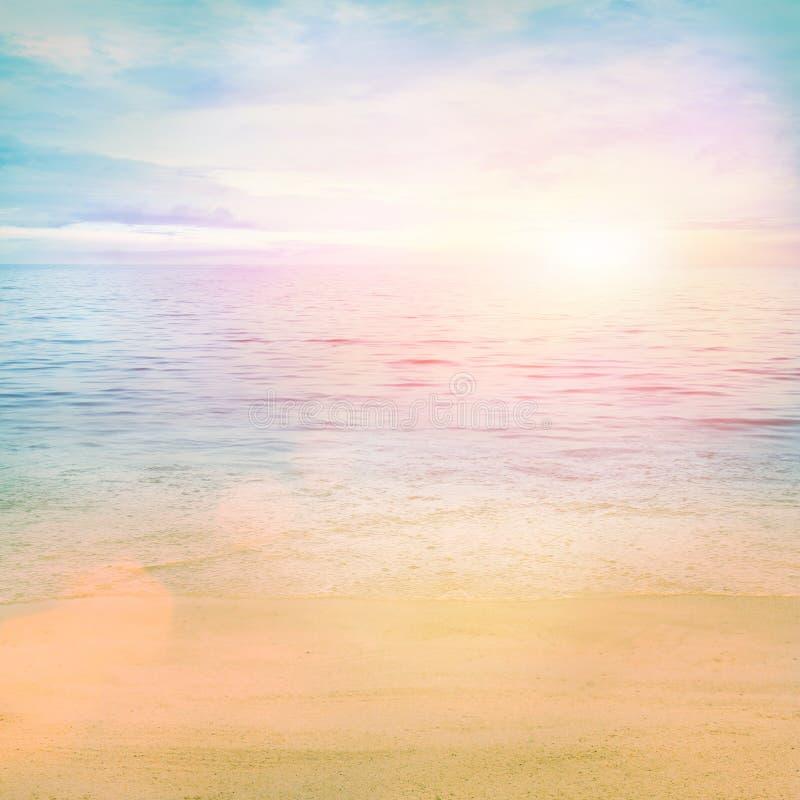 Oceano do verão fotografia de stock