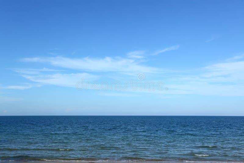 Oceano e céu fotos de stock royalty free