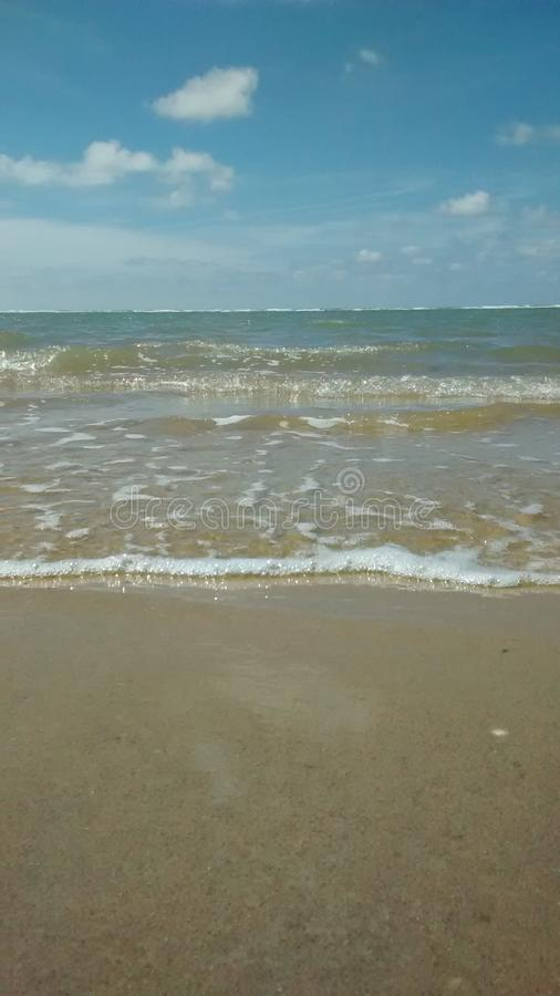 Oceano e cielo 1 immagine stock