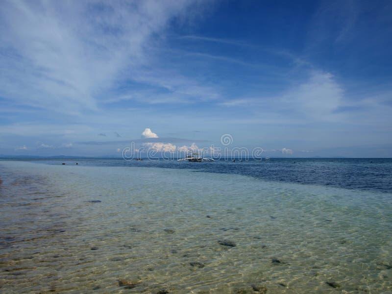 Oceano filippino immagini stock