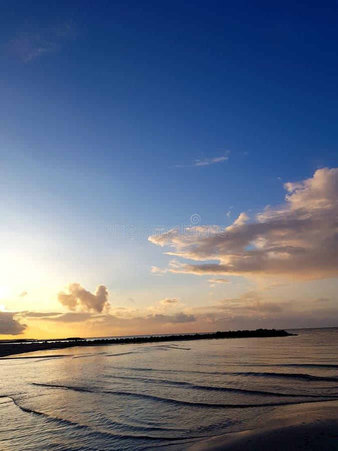Oceano lento fotografia stock