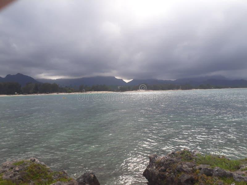 Oceano & Montains fotos de stock