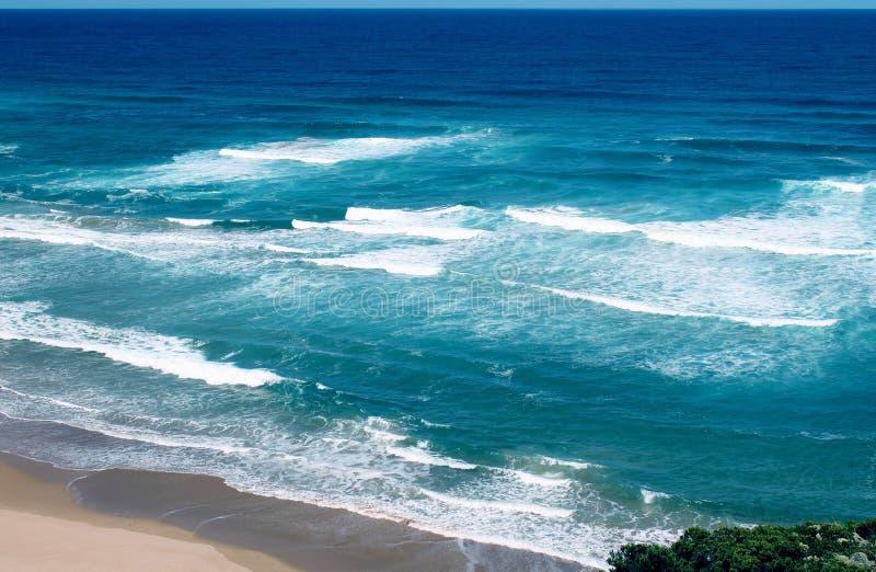 Oceano na grande estrada do oceano em Victoria fotos de stock royalty free