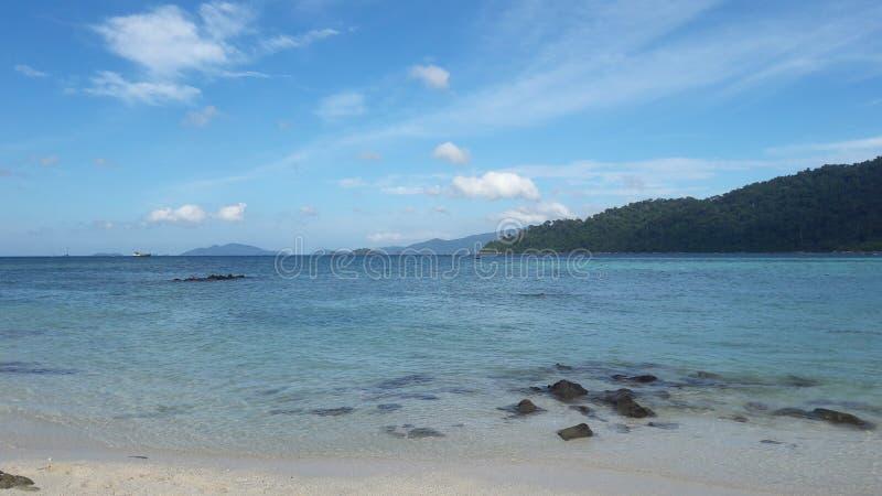 Oceano no lipe Tailândia do Koh foto de stock royalty free