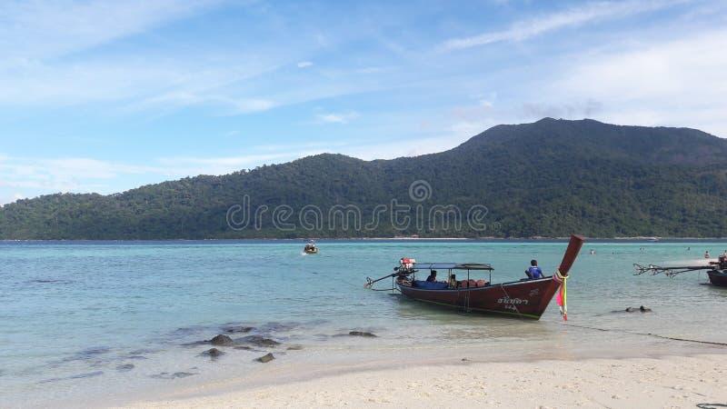 Oceano no lipe Tailândia do Koh fotografia de stock royalty free