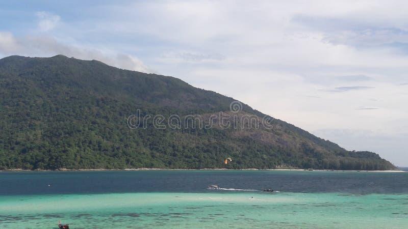 Oceano no lipe Tailândia do Koh fotos de stock