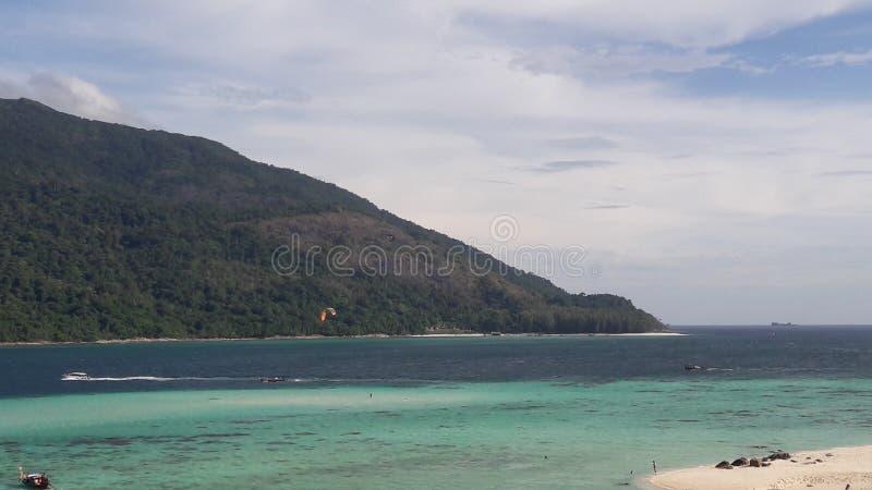 Oceano no lipe Tailândia do Koh imagem de stock royalty free