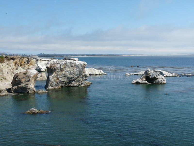 Oceano Pacífico azul fotos de stock