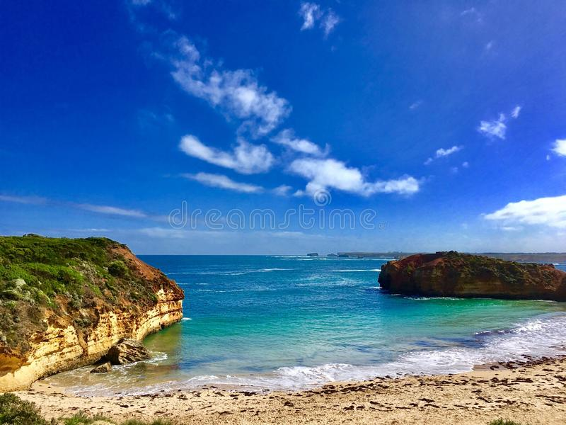 Oceano Road~ de Australia@Melbourne~Greant fotografia de stock royalty free