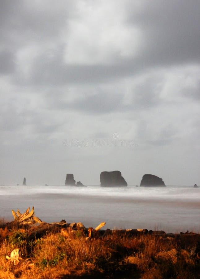 Oceano Scene01 de Etherial fotografia de stock royalty free