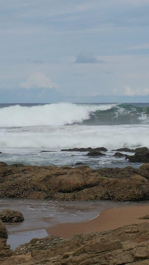 Oceano Sudafrica immagine stock
