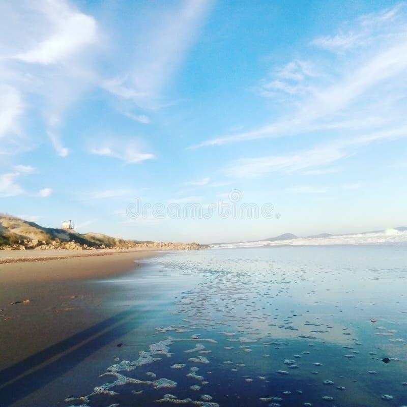 Oceano Uruguay Faros Mrz stockbild