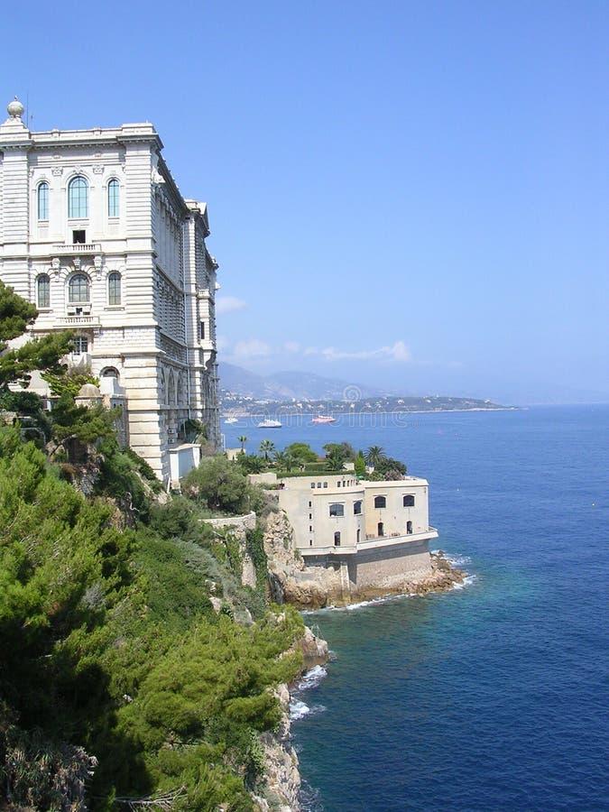 Oceanographic Institute, Monaco. royalty free stock images