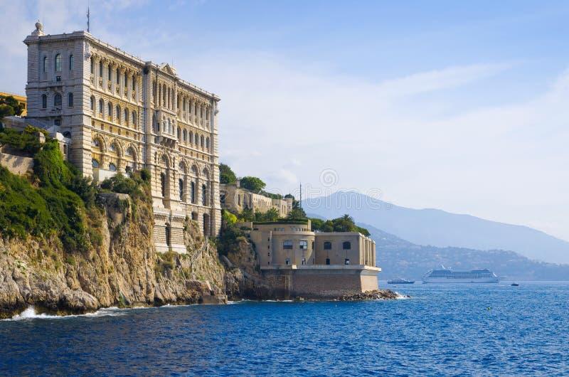 Oceanographic Museum of Monaco stock image