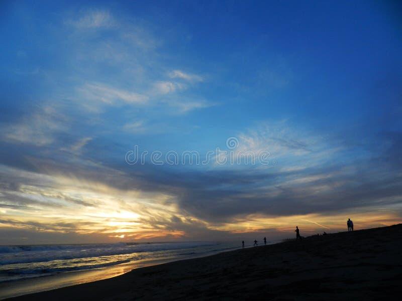The ocean beautiful sky stock images